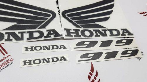 Комплект наклеек Honda 919