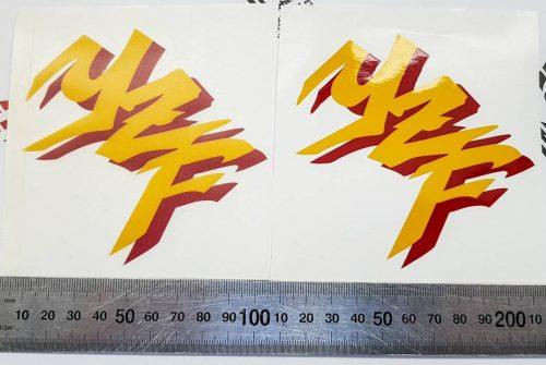 Наклейки Yamaha YZF Graffiti с красной тенью