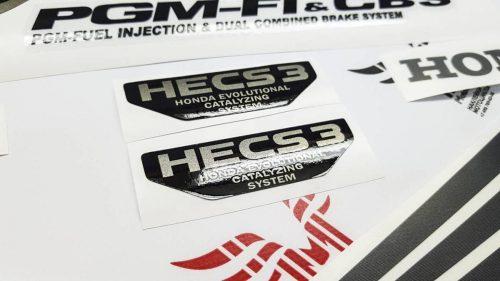 Улучшенный комплект наклеек на Honda VFR