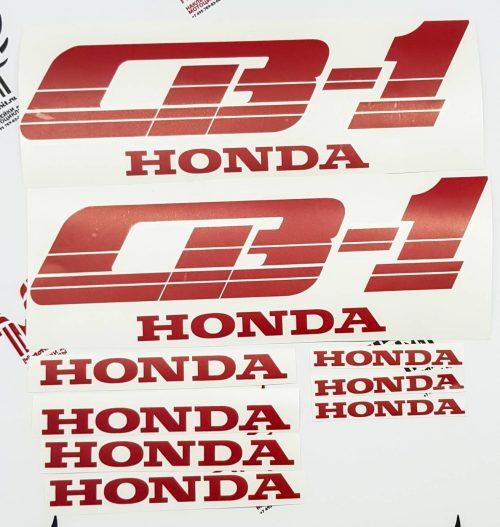 Комплект наклеек Honda CB-1 1989-1991 BLACK