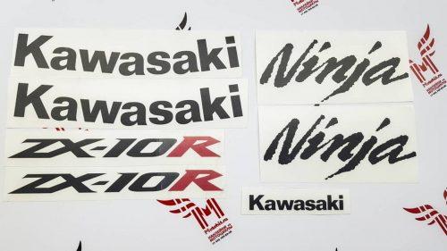 Улучшенный комплект наклеек Kawasaki ZX-10-R 2004-2005