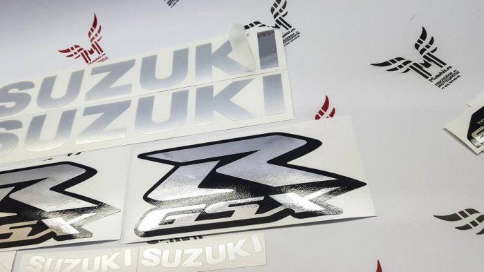 Хромовый комплект наклеек SUZUKI GSX-R-1000 2006-2010 TXT