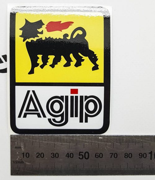 Наклейка с логотипом AGIP 6см