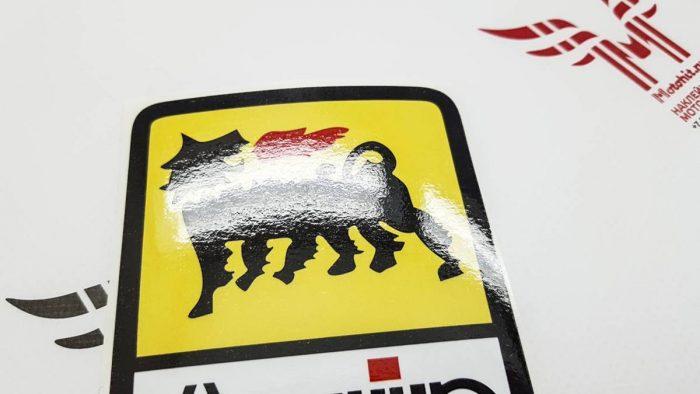 Наклейка с логотипом AGIP 7см