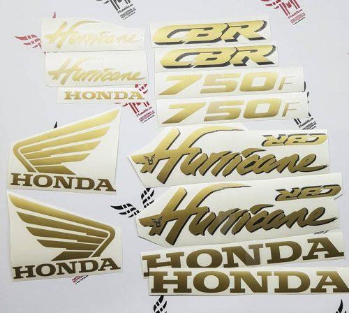 Комплект наклеек Honda CBR-750-F 2000 HURRICANE