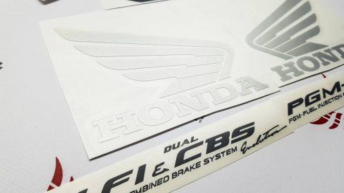 Комплект наклеек Honda VFR-800-FI 1998 INTERCEPTOR-RED