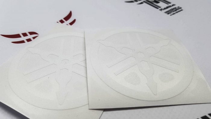 Наклейка Yamaha Логотип Камертон