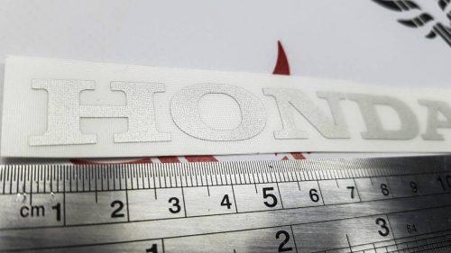 Маленькая надпись Honda (12см)