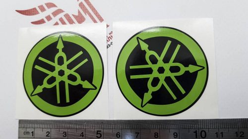 Зелёные камертоны Yamaha