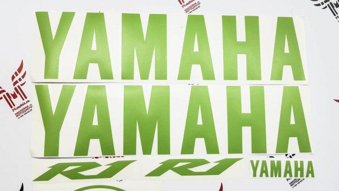 Травянисто зелёный комплект Yamaha R1