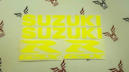 Комплект наклеек SUZUKI GSX-R-600 2006-2007 TXT