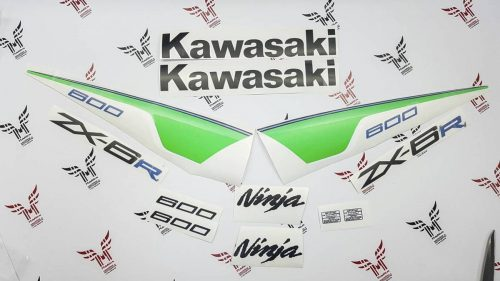 Комплект наклеек Kawasaki ZX-6R 2012-2013