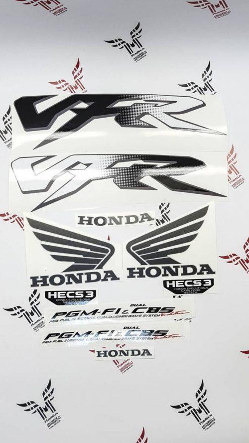 Комплект наклеек Honda VFR-800-FI 1998-2001 SILVER