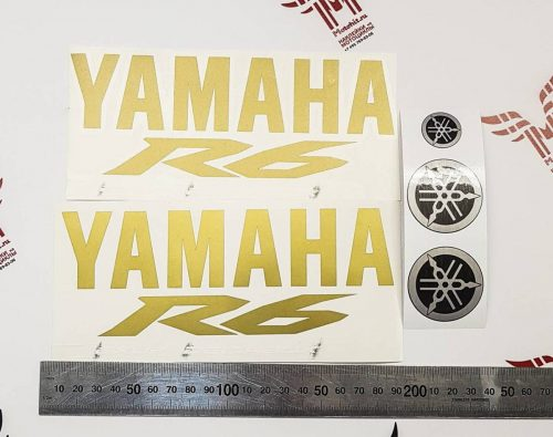 Комплект наклеек Yamaha YZF-R6 2009