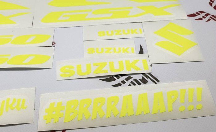 Комплект наклеек SUZUKI GSX-R-750 2006-2007 TXT