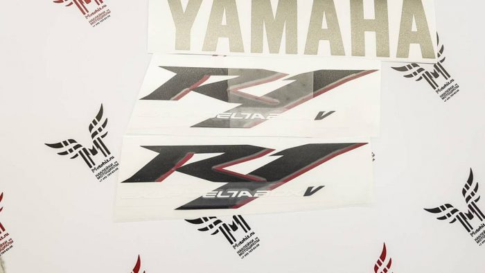 Улучшенный Комплект наклеек Yamaha YZF-R1 2004 TXT