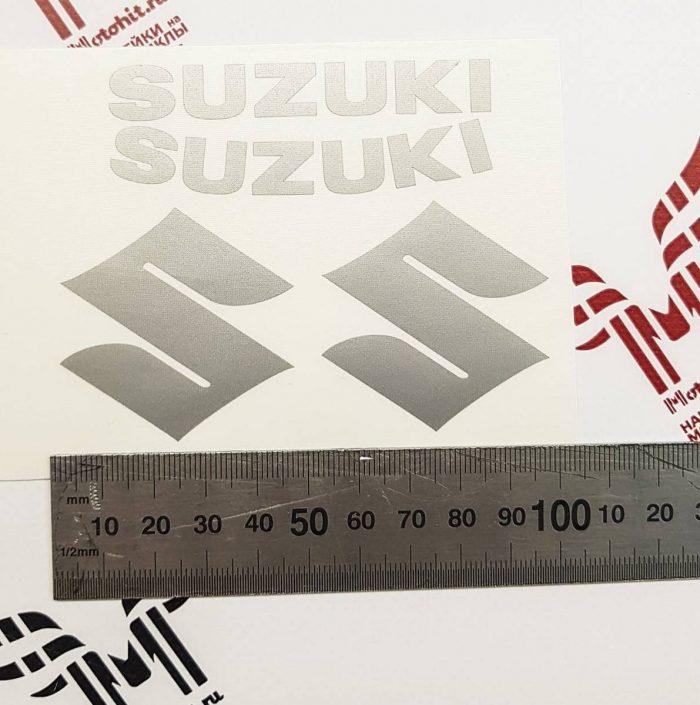 Набор надписей и лого Suzuki