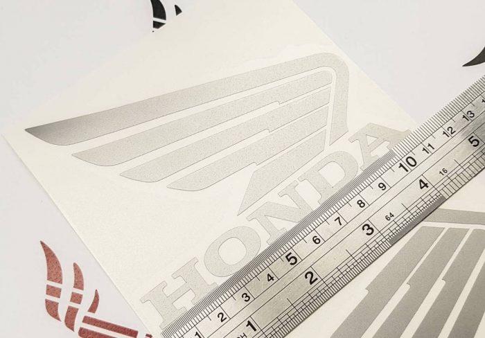 Наклейка крылья Honda 11см