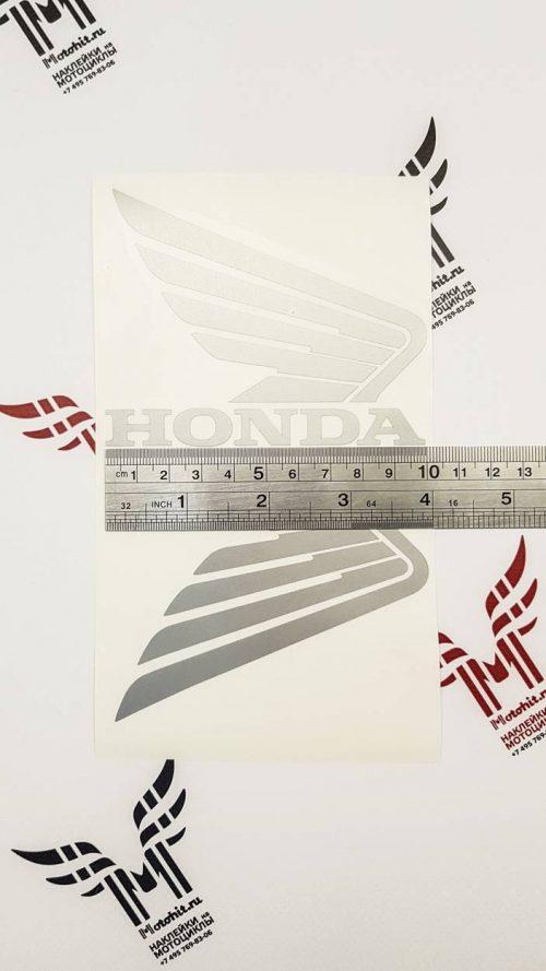 Наклейка крылья Honda 10см