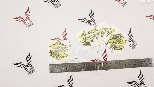 Светоотражающая Наклейка SUZUKI BIRD