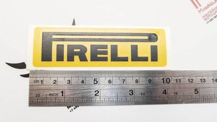 Наклейка логотип PIRELLI
