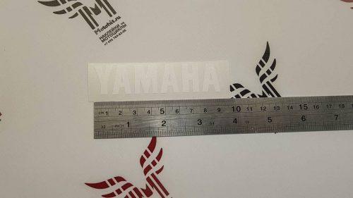 Маленькая Наклейка надпись Yamaha
