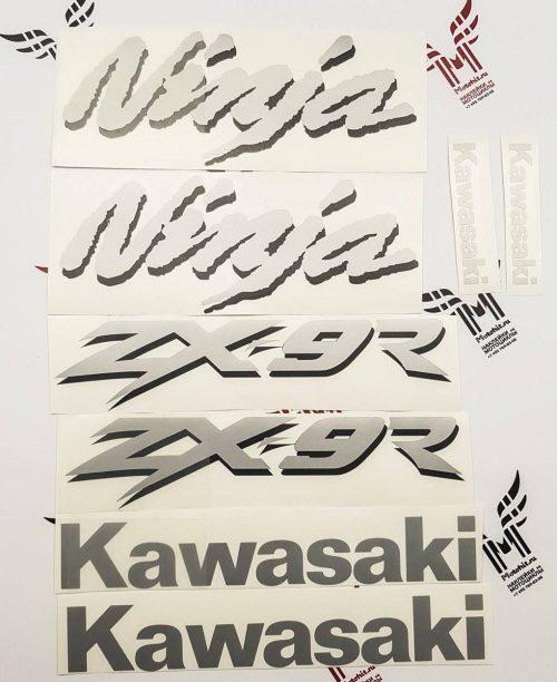 Комплект наклеек Kawasaki ZX-9R 1998