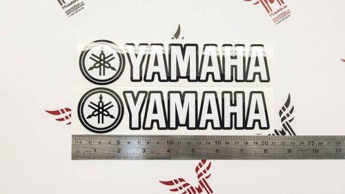 Надписи Yamaha (не мото) с камертоном