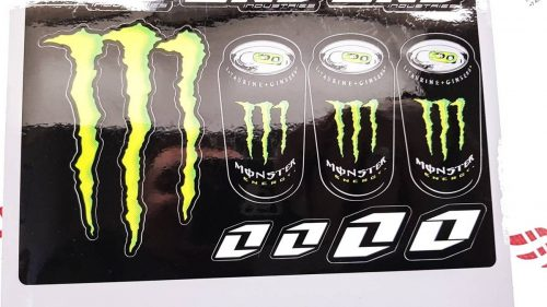Лист наклеек MONSTER ENERGY TIN