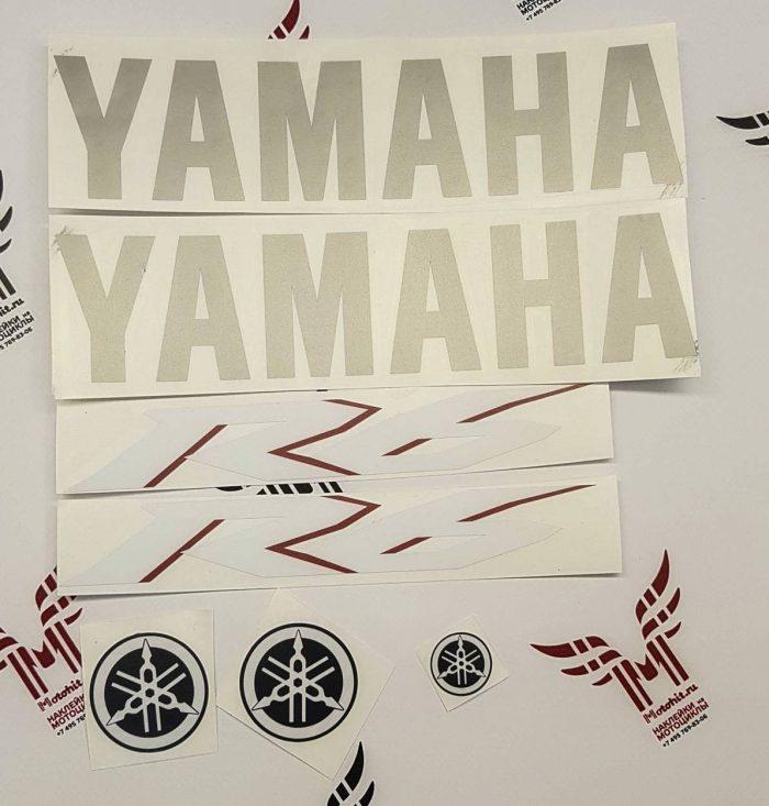 Комплект наклеек Yamaha YZF-R6 2007 TXT