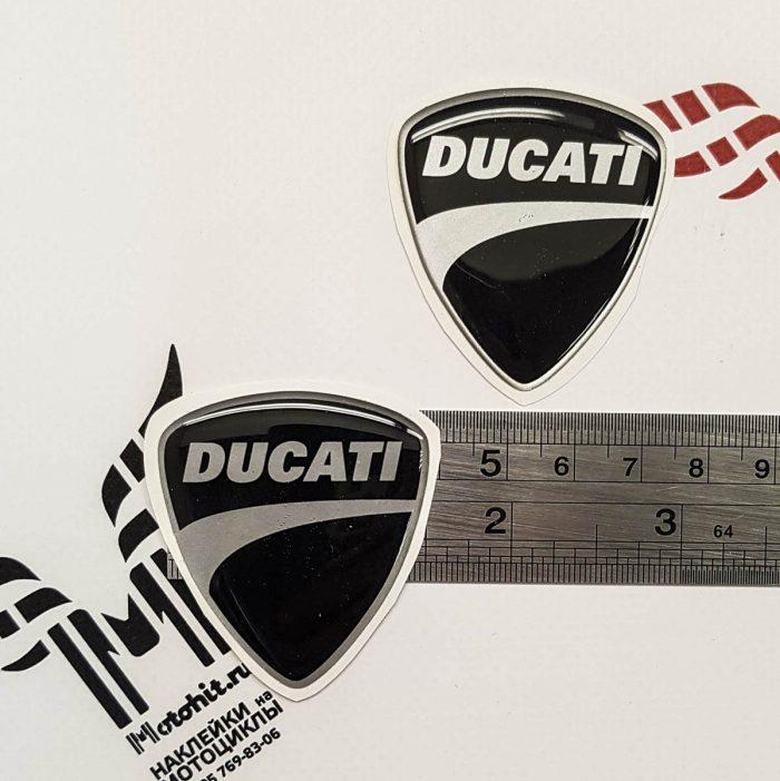 Наклейки щит Ducati