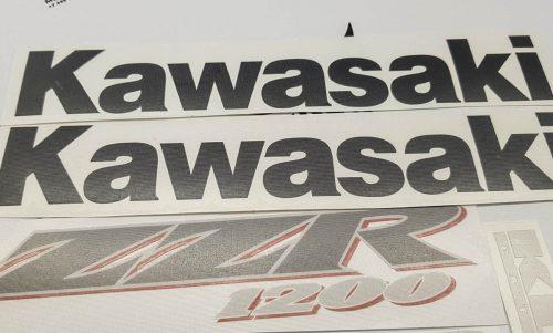 Комплект наклеек Kawasaki ZZR-1200