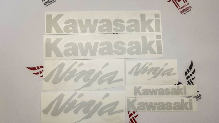 Светоотражающий Комплект наклеек Kawasaki EX-250R Ninja
