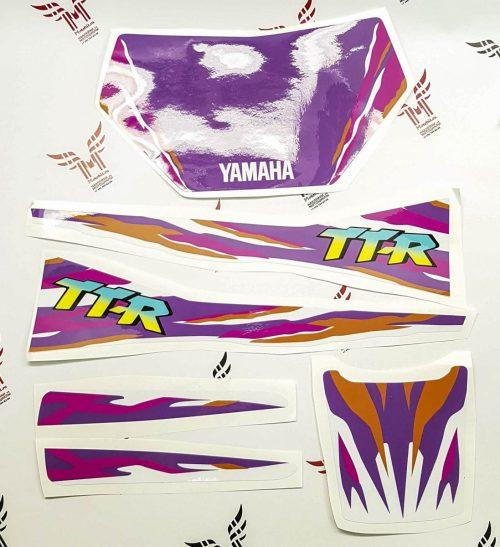 Комплект наклеек Yamaha TTR-250 1993-2006-V