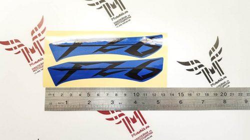 Комплект наклеек Yamaha FZ-6 12см