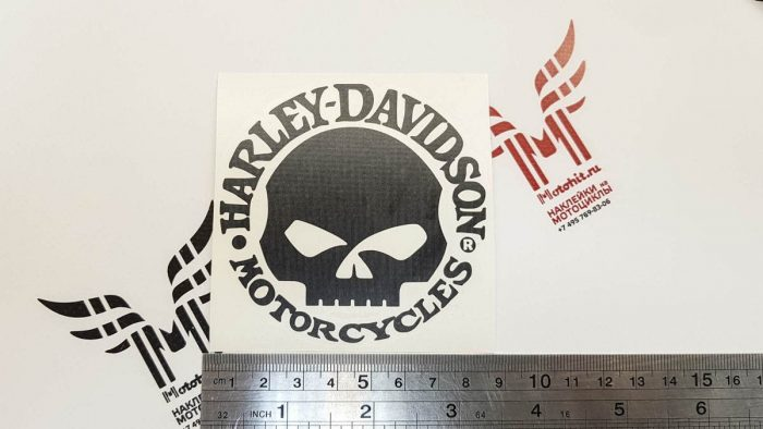 Наклейка HARLEY DAVIDSON SKULL
