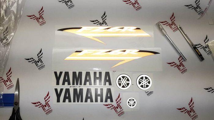 Комплект наклеек Yamaha FZ-6R 2009-2015 LIGHT