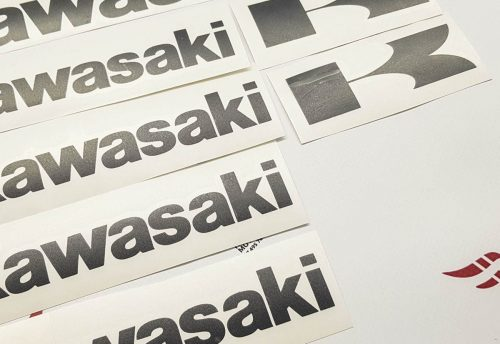 Комплект наклеек Kawasaki 18-STICKER promo