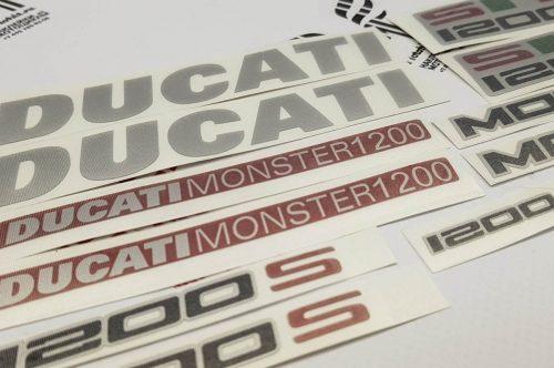 Комплект наклеек Ducati 1200s Monster
