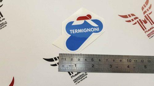 Наклейка логотип TERMIGNONI 7см