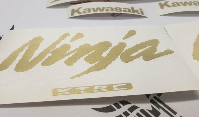 Комплект наклеек Kawasaki ZZR-1400 2012