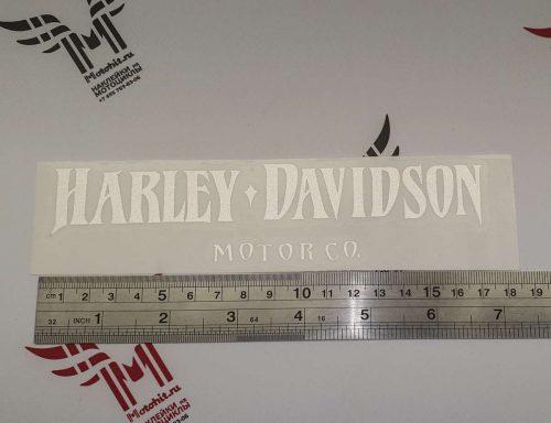 Светоотражающая наклейка Прямая надпись Harley