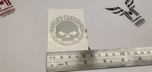 Светоотражающая наклейка Harley Davidson Scull