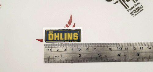Наклейка OHLINS 5см