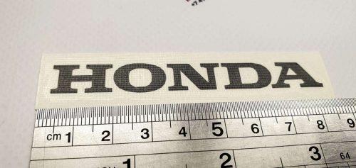Маленькая надпись Honda