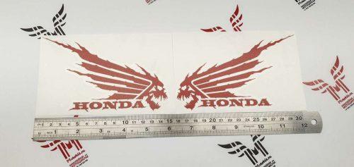 Крылья на бак Honda Черепа