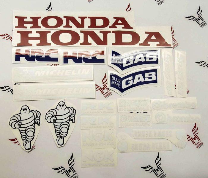Комплект наклеек Honda CBR-1000-RR 2006-2007 REPSOL-TXT