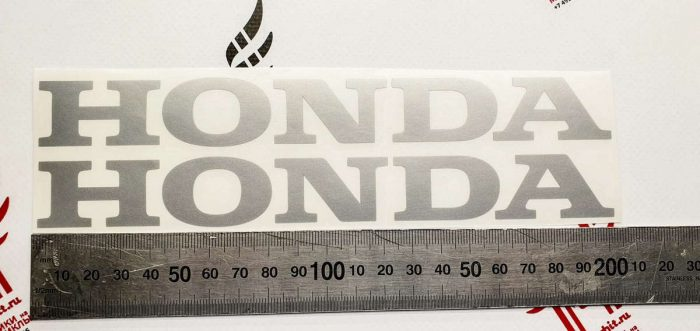 Надпись Honda 20см