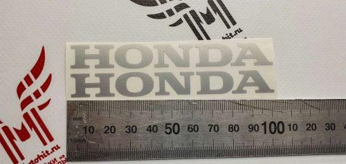 Надпись Honda 10см