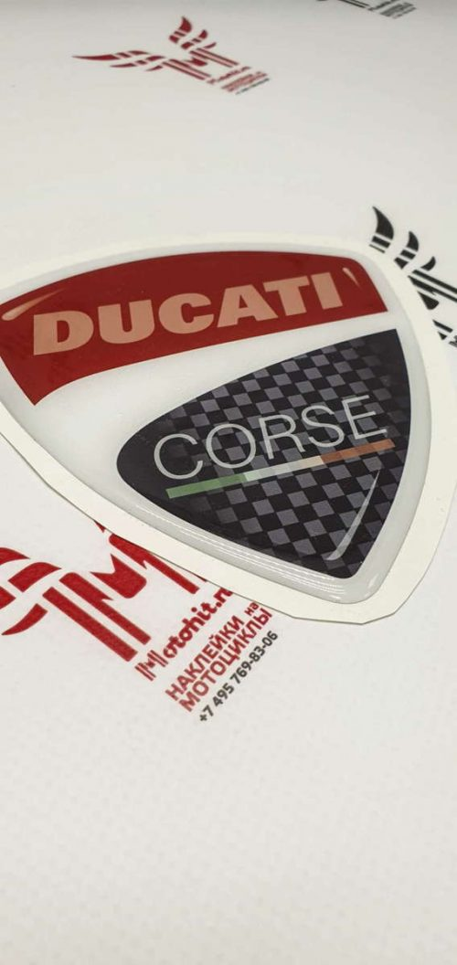 Объёмный щит Ducati Corse